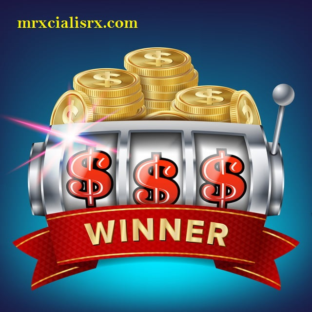 Slot Machine Banner Vector. Win Jackpot In Game Slot Machine. Brochure. Big Win Banner. Casino Illustration